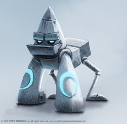 DAY 222. Robot Gorilla by Cryptid-Creations