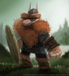 DAY 230. Viking Whatever by Cryptid-Creations