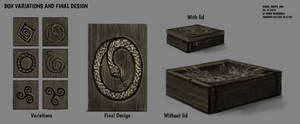 DAY 320. Sidhe - Props. Box by Cryptid-Creations