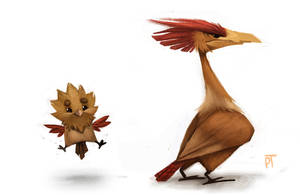 DAY 445. Kanto 021 - 022 by Cryptid-Creations