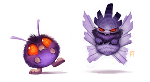 DAY 463. Kanto 048 - 049 by Cryptid-Creations