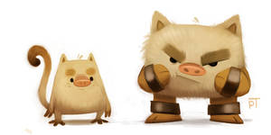 DAY 467. Kanto 056 - 057 by Cryptid-Creations