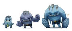 DAY 471. Kanto 066 - 067 - 068 REDO by Cryptid-Creations