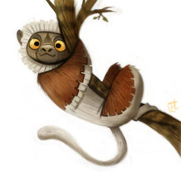 Daily Painting 723# Zoboomafoo by Cryptid-Creations