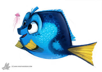 Daily Painting 758. Dory by Cryptid-Creations