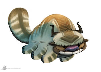 Daily Painting 851. Appa by Cryptid-Creations