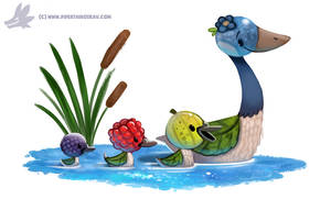 Daily Paint #1169. Gooseberries by Cryptid-Creations