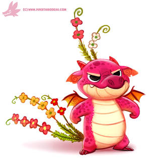 Daily Paint #1185. Snapdragon by Cryptid-Creations