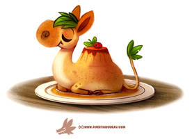 Daily Paint #1273. Camamel Custard by Cryptid-Creations