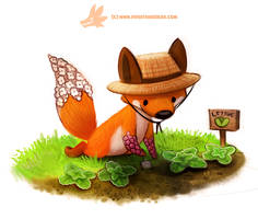 Daily Paint 1290. Foxglove by Cryptid-Creations