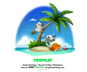Daily 1335. Tropicat by Cryptid-Creations