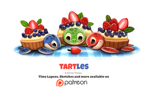 Daily 1343. Tartles by Cryptid-Creations