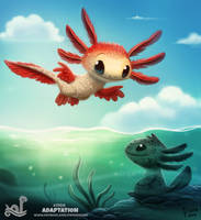 Daily Painting 1700# Adaptation by Cryptid-Creations