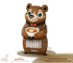 Daily Paint 1770# Bearista by Cryptid-Creations