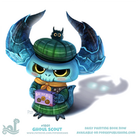 Daily Paint 1801# Ghoul Scout by Cryptid-Creations