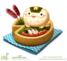 Daily Paint 1816# Bentoad Box by Cryptid-Creations
