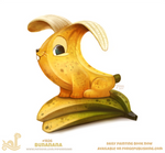 Daily Paint 1826# Bunana by Cryptid-Creations