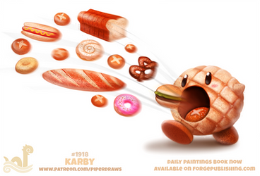 Daily Paint 1918# Karby by Cryptid-Creations