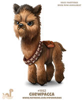 Daily Paint 1952# Chewpacca by Cryptid-Creations