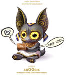 Daily Paint 1989# An00bis by Cryptid-Creations