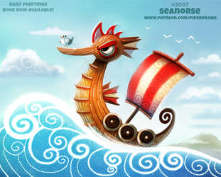 Daily Paint 2007# Seanorse by Cryptid-Creations
