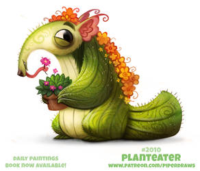 Daily Paint 2010# Planteater by Cryptid-Creations