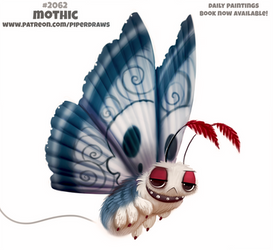 Daily Paint 2062# Mothic by Cryptid-Creations