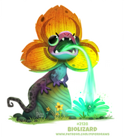Daily Paint 2128. Biolizard by Cryptid-Creations
