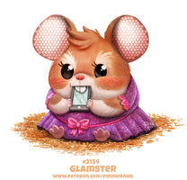 Daily Paint 2154. Glamster by Cryptid-Creations