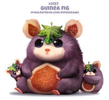Daily Paint 2157. Guinea Fig by Cryptid-Creations