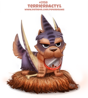 Daily Paint 2158. Terrierdactyl by Cryptid-Creations