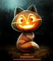 Daily Paint 2165. Pumpkit by Cryptid-Creations