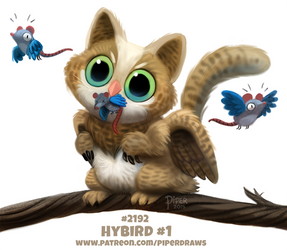 Daily Paint 2192. Hybird 1# by Cryptid-Creations