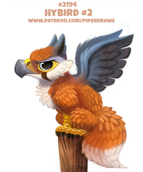Daily Paint 2194. Hybird #2 by Cryptid-Creations