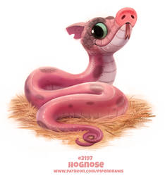 Daily Paint 2197. Hognose by Cryptid-Creations