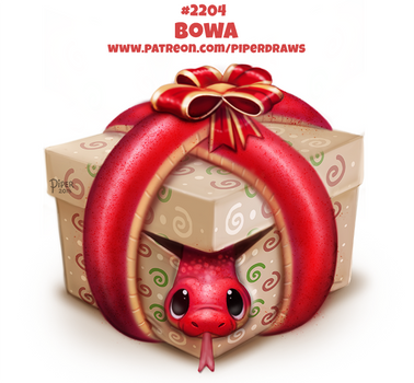 Daily Paint 2204. Bowa by Cryptid-Creations