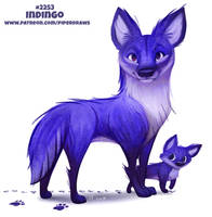 Daily Paint 2253. Indingo by Cryptid-Creations