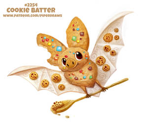 Daily Paint 2254. Cookie Batter by Cryptid-Creations