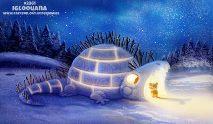 Daily Paint 2261. Igloouana by Cryptid-Creations