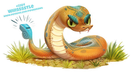 Daily Paint 2264. Whissstle by Cryptid-Creations