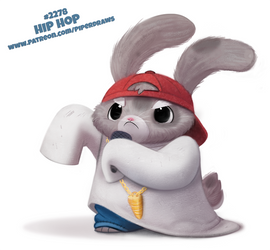 Daily Paint 2278. Hip Hop by Cryptid-Creations