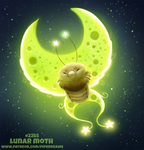 Daily Paint 2285. Lunar Moth by Cryptid-Creations