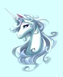 The Last Unicorn~Fanart by LoriStebbins