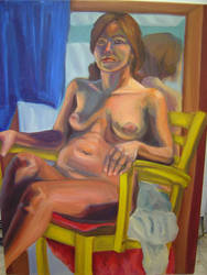 Oil painting: figure study by dr-worm