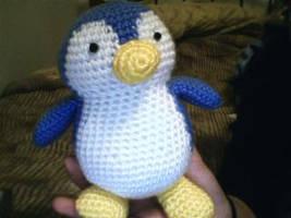 Crochet Penguin by katrivsor