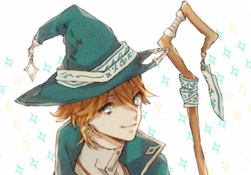 Male Witch by banwa