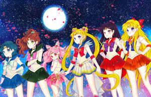 Super Senshi by cherrycheezy