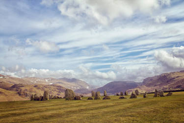 Standing Stones at Castlerigg, UK by bigbear74