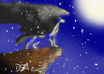 One Cold Winter Night by Dion600