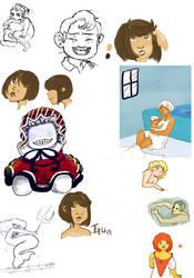 Sketch Dump- 06-11 by Soujaurl